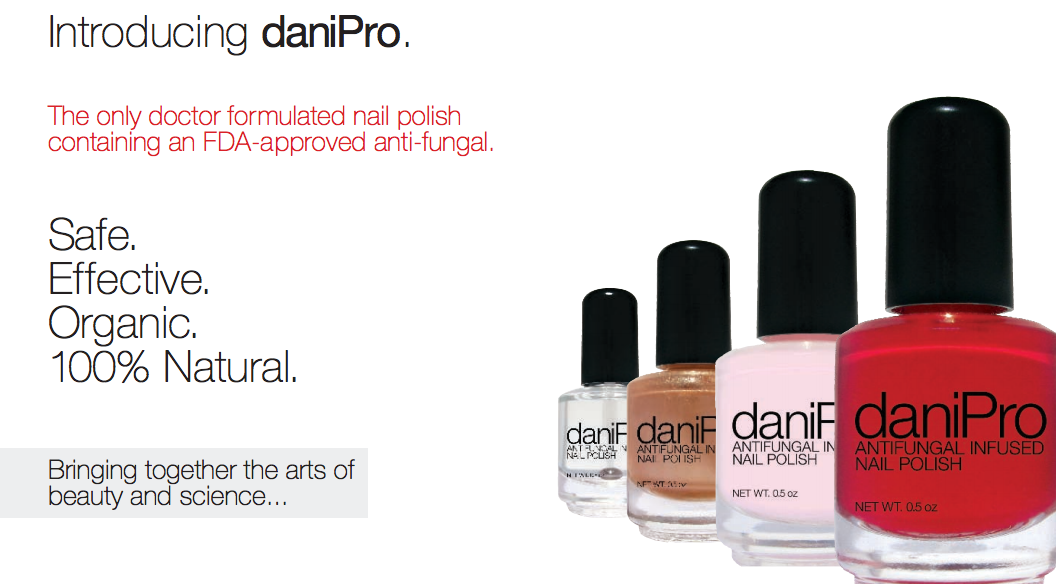 Busted: the anti-fungal in this polish is FDA approved, but not for nails!
